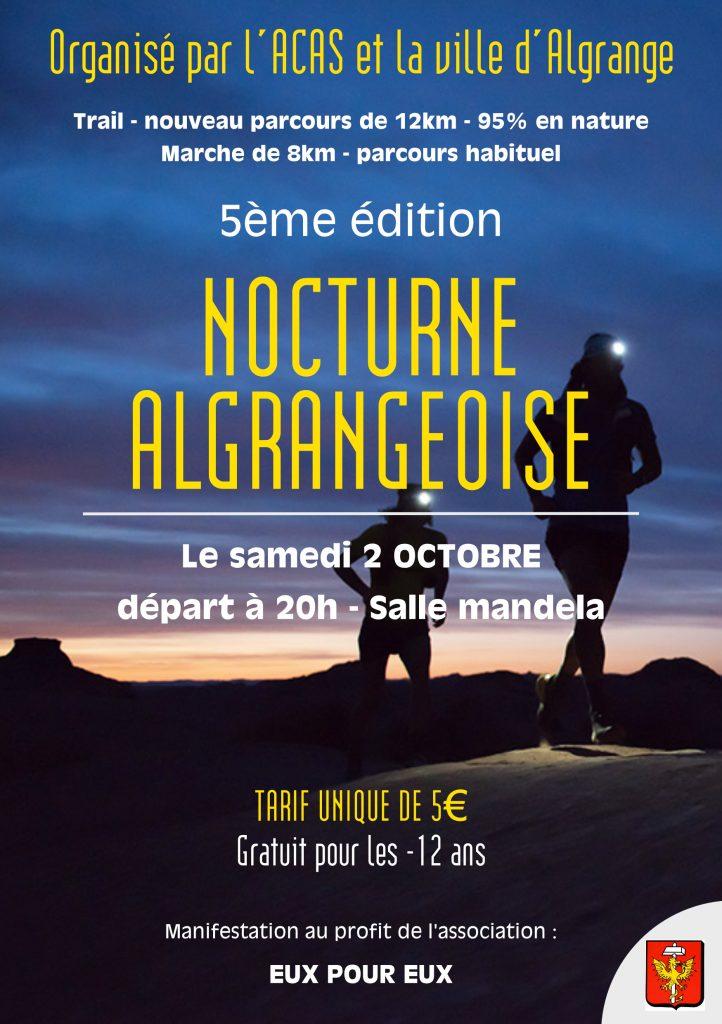 Affiche Nocturne Algrangeoise